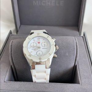 Michele Tahitian jelly watch